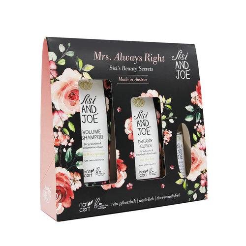 "Sisi & Joe Beauty Secret - Hair Care Set ""Mrs. Always right"""