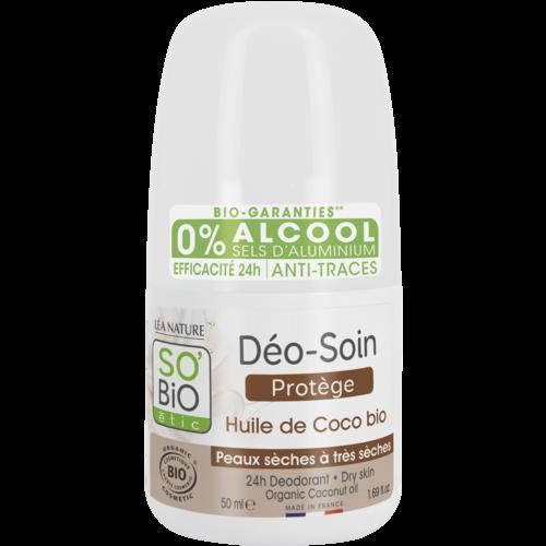 So'Bio Étic Deodorant Roll On - Coco (50ml)