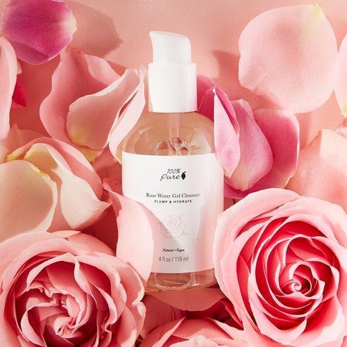 100% Pure Rose Water Gel Cleanser
