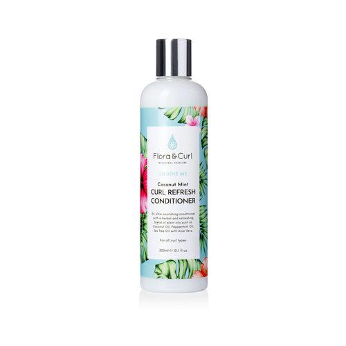 Flora & Curl Coconut Mint Curl Refresh Conditioner