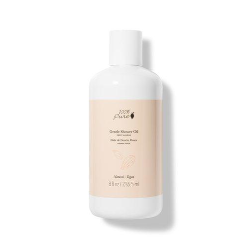 100% Pure Gentle Shower Oil - Sweet Almond