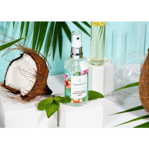 Flora & Curl Coconut Mint Scalp Refresh Mist