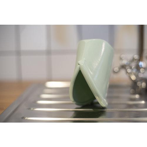 Food Huggers Herbruikbare Siliconen Zak 400ml - Champagne Frost