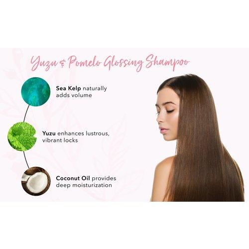100% Pure Yuzu & Pomelo Glossing Shampoo