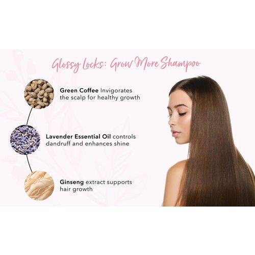 100% Pure Glossy Locks: Grow More Shampoo
