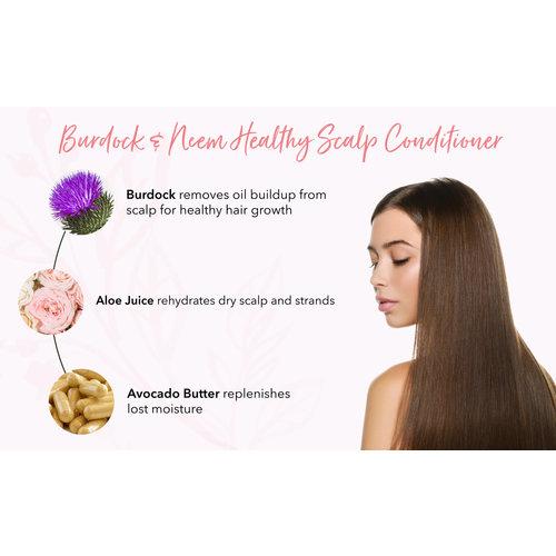 100% Pure Burdock & Neem Healthy Scalp Conditioner