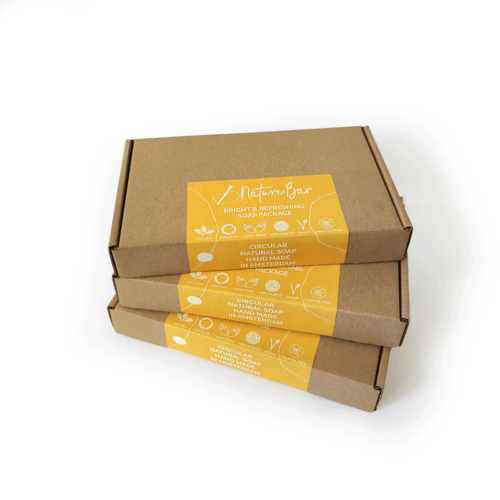 Nature Bar Bright & Refreshing Zeep Pakket