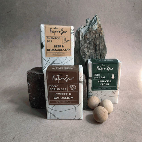Nature Bar Vol & Kruidig Zeep Pakket