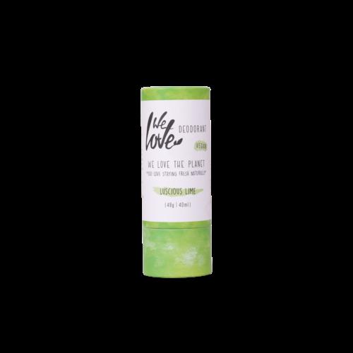 We Love The Planet Vegan Deodorant Stick - Luscious Lime