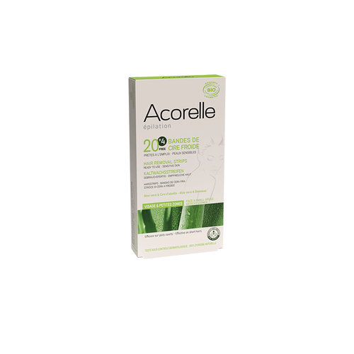 Acorelle Hair Removal Strips For Face X 20 + 4 Free