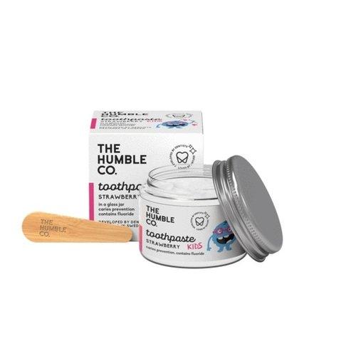 Humble Brush Kindertandpasta Zero Waste - Aardbei met fluor