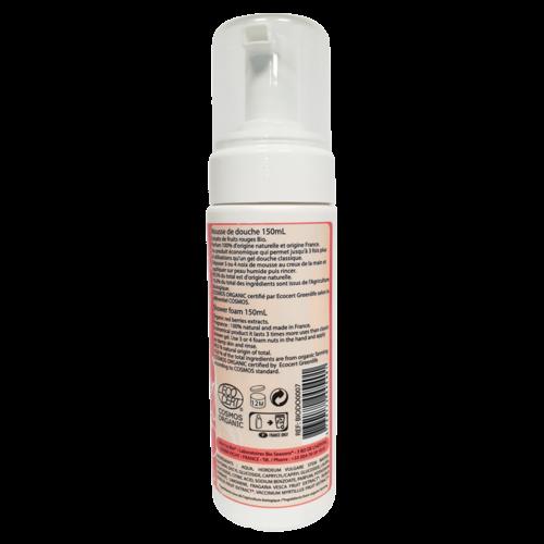 Born to Bio Organic Red Fruit Shower Foam (150ml)