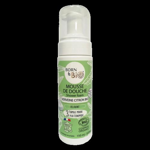 Born to Bio Organic Verbena And Lemon Shower Foam (150ml)