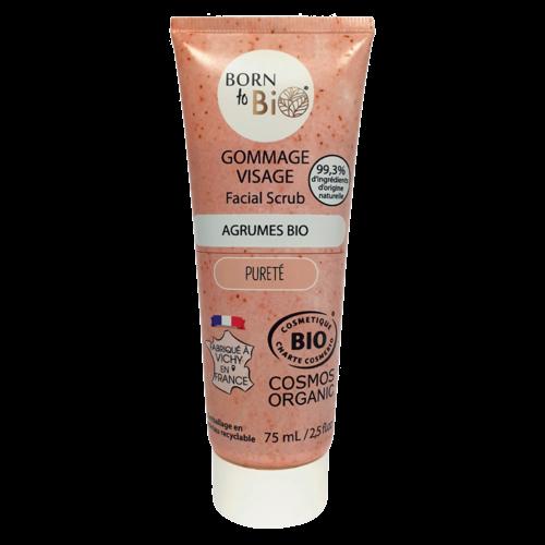 Born to Bio Face Scrub For Oily Skin (75ml)