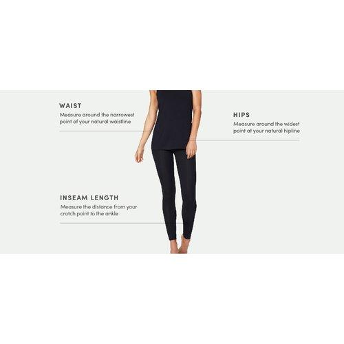 Boody Bamboe Legging - Zwart