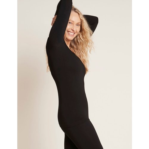 Boody Bamboe Long Sleeve Top - Zwart