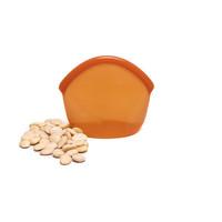 Herbruikbare Siliconen Zak 400ml - Amber