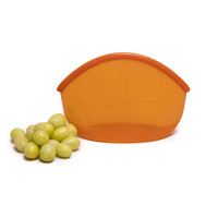 Herbruikbare Siliconen Zak 900ml - Amber