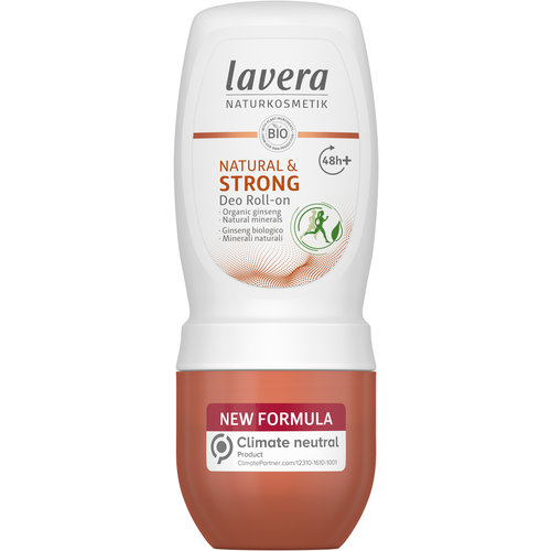 Lavera Deodorant Roll On - Natural & Strong (50ml)