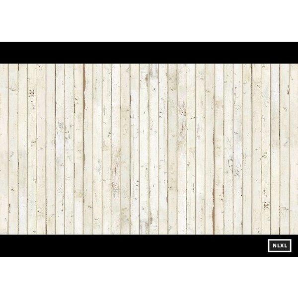 smalle planken wit PHE-08