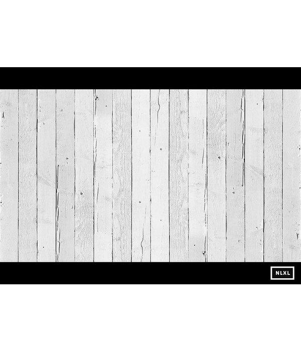 Piet-Hein-Eek Behang Piet Hein Eek - brede wit Wallpaper