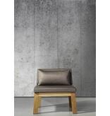 Piet-Boon Behang Piet Boon - brede warm grijze platen beton Wallpaper