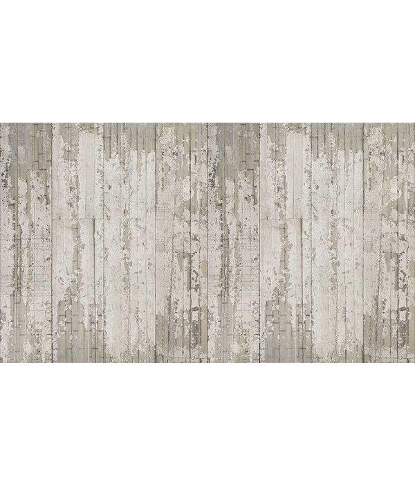 Piet-Boon Behang Piet Boon - verweerde smalle stroken beton Wallpaper