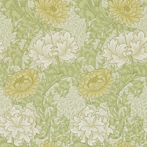 Chrysanthemum Pale Olive 212545