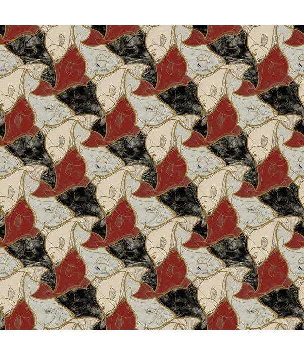 MC-Escher Fish  23100