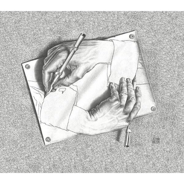 Drawing Hands  23185