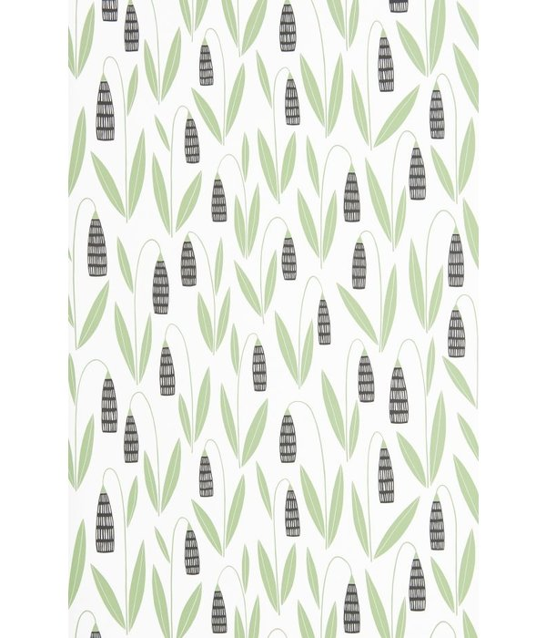 Miss-Print Snowdrops Forest Shade MISP1275