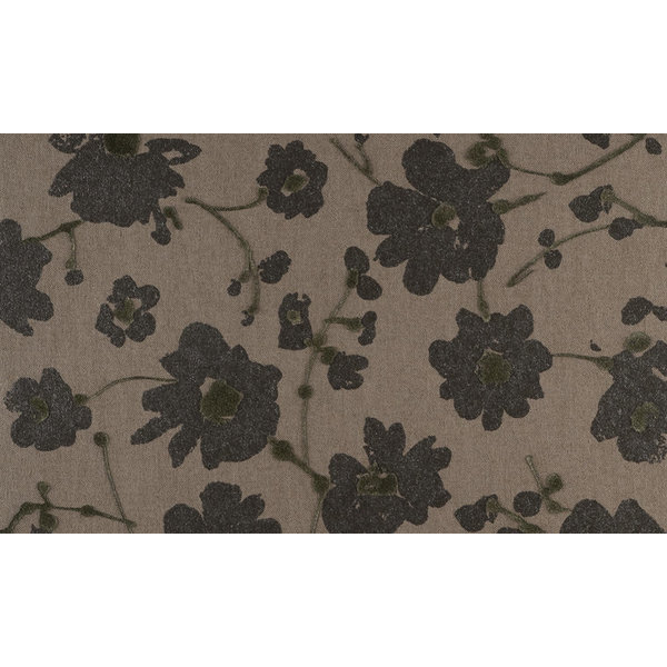 Flamant Metal Velvet Flower and Lin 18007