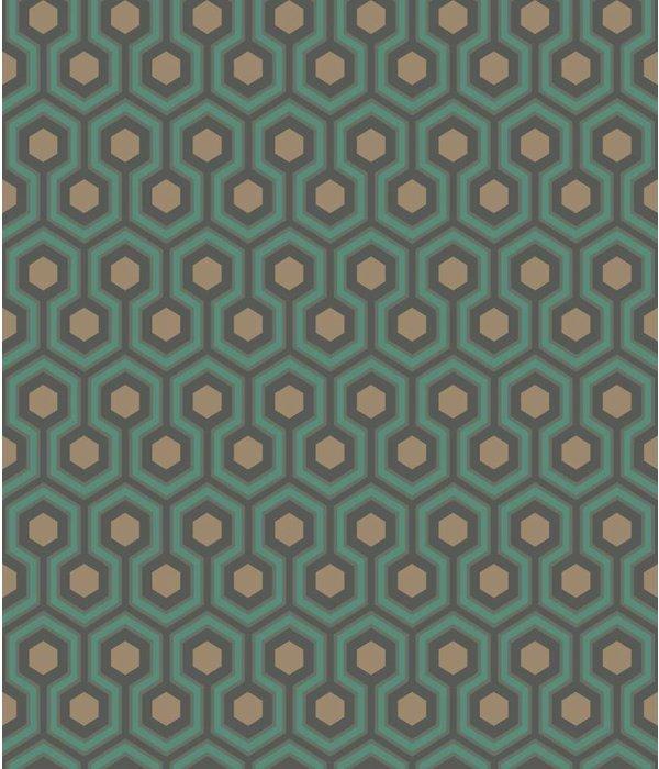 Uitzonderlijk Hicks' Hexagon Petrol 95/3018 - De Mooiste Muren HK51