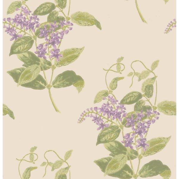 Madras Violet Olive, Lavender, (Groen, Paars) 100/12056