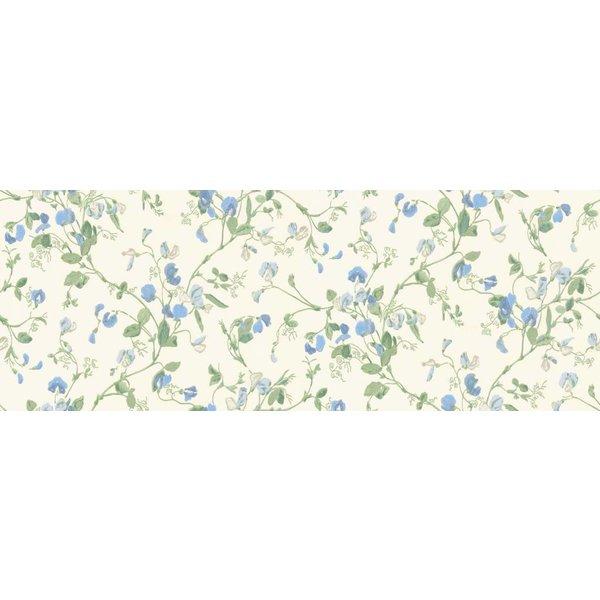 Sweet Pea Blauw, Groen, Wit 100/6031