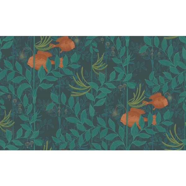 Nautilusdark Green (Donker Groen, Oranje) 103/4019
