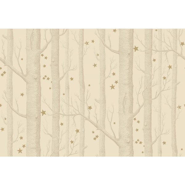 Woods & Stars Buff, Gold (Taupe, Goud) 103/11049