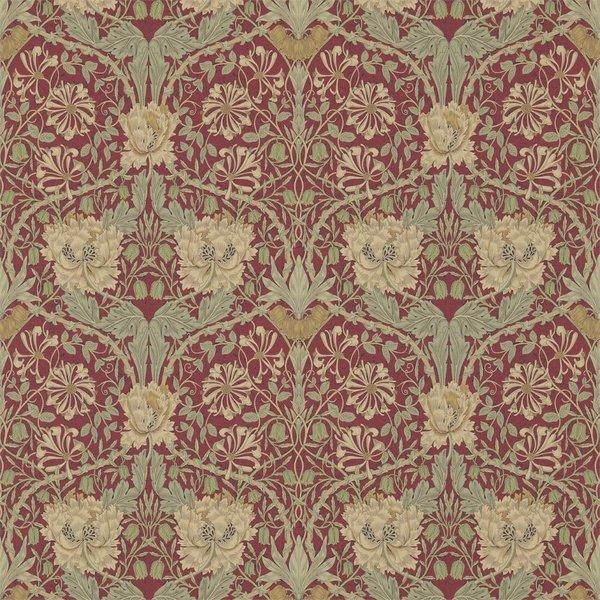 Honeysuckle & Tulip Red/Gold 214700