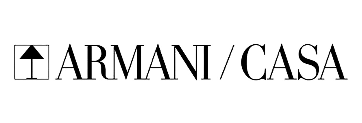 logo armani brian yates behang wallpaper