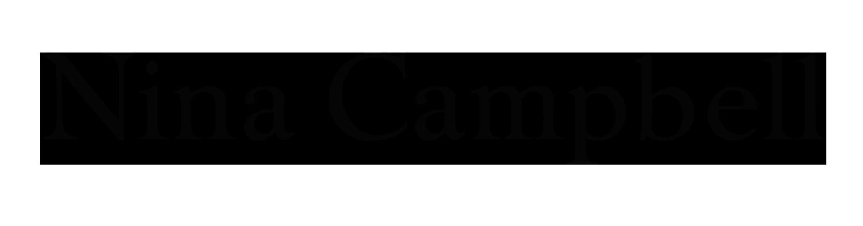 logo nina campbell behang wallpaper