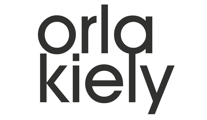 logo orla kiely behang wallpaper