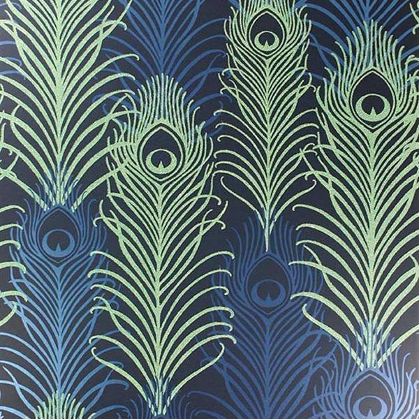Peacock Midnight/Metallic W654101