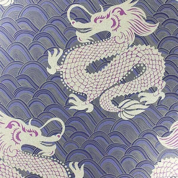 Celestial Dragon Ink/Amethyst/Metallic