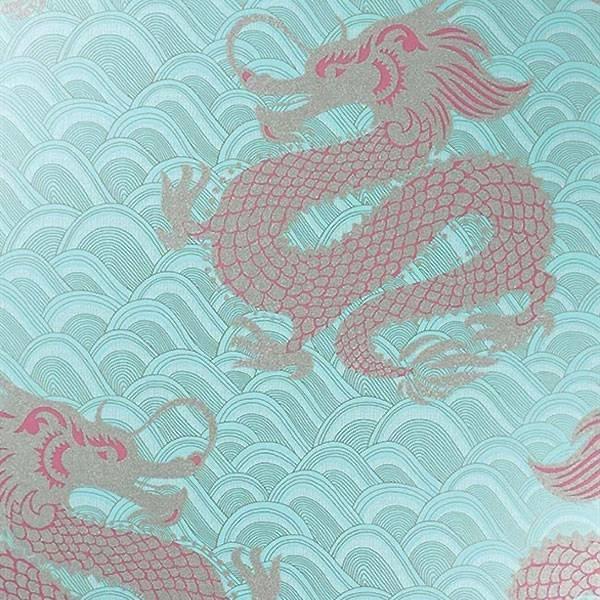 Celestial Dragon Ice Blue/Rose/Gold
