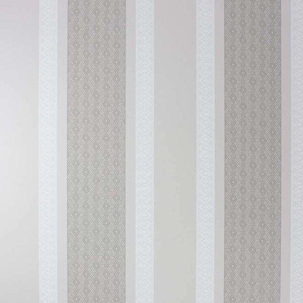 Chantilly Stripe Linen/White/Pale Linen W6595-01