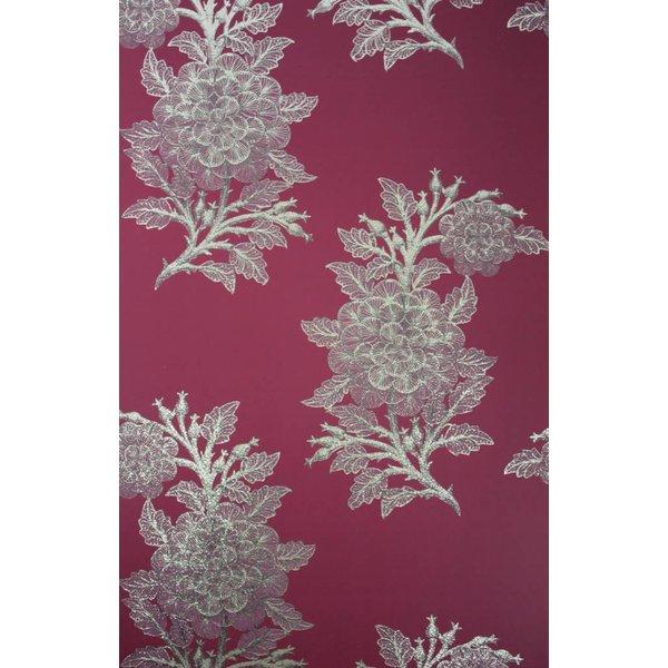 Ajoure Cranberry / Pale Gilver W6433-06