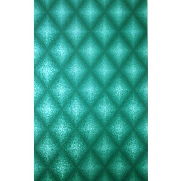Chameleon Turquoise Met Zwart W6305-01