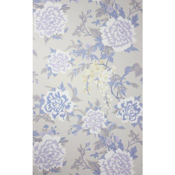PERSIAN GARDEN Blue Purple W6492-02