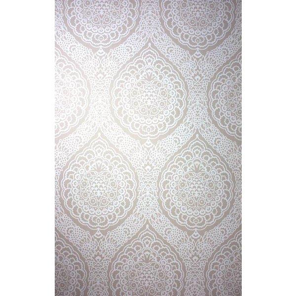 ROSALIA DAMASK Antique White W6493-06