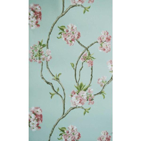Orchard Blossom Lichtblauw En Roze